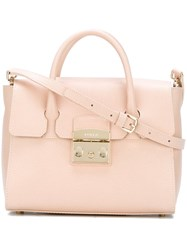 Furla Medium 'Metropolis' Tote Nude And Neutrals