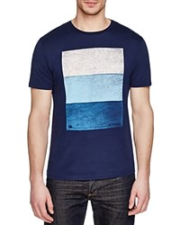Sundek Logan Graphic Tee Navy