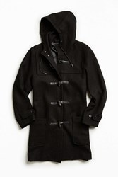 Urban Outfitters Uo Toggle Duffle Coat Black