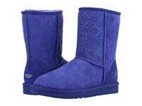 Ugg Classic Short Crystal Diamond Night Sky Women's Cold Weather Boots Blue