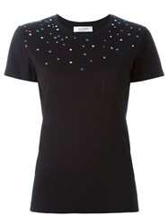 Valentino 'Cherry Tree' T Shirt Black
