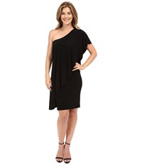 Norma Kamali Circle Dress Black Women's Dress