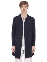 Thom Browne Cotton Blend Poplin Overcoat