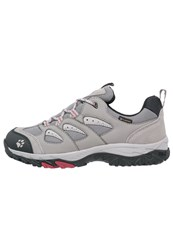 Jack Wolfskin Mtn Storm Texapore Hiking Shoes Racing Red Grey
