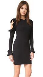 Susana Monaco Long Sleeve Dress Black