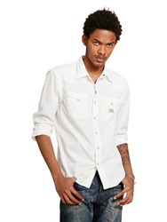Denim And Supply Ralph Lauren Cowboy Slim Fit Shirt White