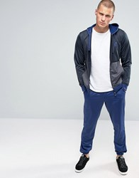 Emporio Armani Ea7 Tracksuit Set With Hood In Navy Navy