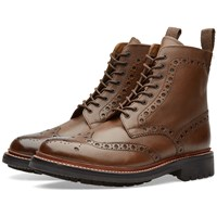 Grenson Fred C Boot Brown