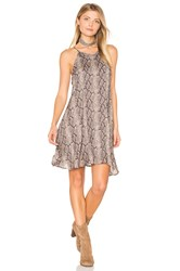 Bella Dahl Halter Dress Gray