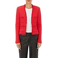 L'agence Women's Tweed Jules Jacket Red