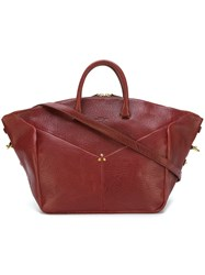 Jerome Dreyfuss 'Gerald' Tote Red