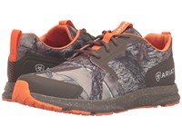 Ariat Fuse Camo Mesh Men's Lace Up Casual Shoes Olive