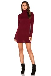 Equipment Oscar Mini Sweater Dress Burgundy