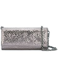 'Flying Kenzo' Chain Wallet Metallic