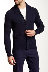 J.Crew Factory Donegal Shawl Collar Cardigan Multi