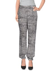 New York Industrie Trousers Casual Trousers Women Ivory