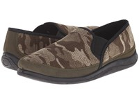 Foamtreads Hunter Green Camo Men's Slippers