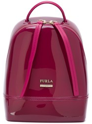 Furla Small 'Candy' Backpack Pink And Purple