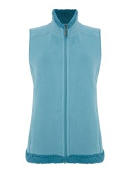 Tigi Fleece Gilet Blue