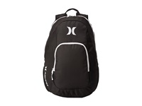 Hurley One Only Backpack Black White Backpack Bags
