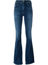 Citizens Of Humanity 'Fleetwood High Rise' Flared Jeans Blue