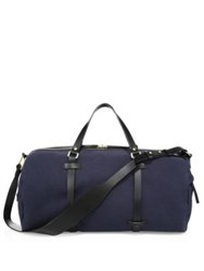 Miansai Leather Duffle Bag Black Navy Black