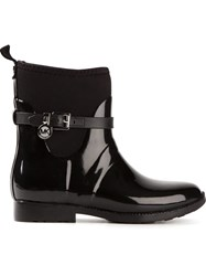 Michael Michael Kors Stretch Rain Boots Black