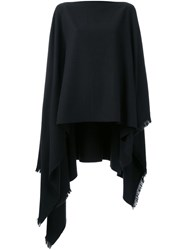 Christophe Lemaire Wool Cape Grey