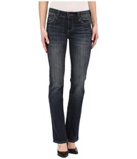 Kut From The Kloth Natalie High Rise Bootcut Jeans In Unwavering W Euro Base Wash Unwavering Euro Base Wash Women's Jeans Blue