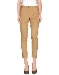 Aniye By Trousers Casual Trousers Women Camel
