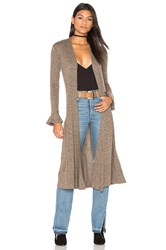 Riller And Fount Jane Cardigan Brown