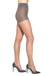Nordstrom Plus Size Women's Control Top Pantyhose Soft Black