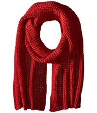 Jack Wolfskin Milton Scarf Indian Red Scarves Multi