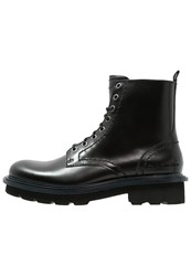 Calvin Klein Jeans Gunther Laceup Boots Black