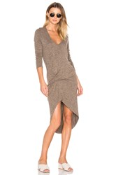 Riller And Fount Edith Dress Brown