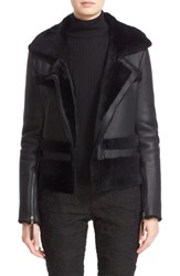 St. John Women's Collection Genuine Shearling Jacket