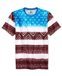American Rag Men's Flag Print T Shirt Only At Macy's Bright White