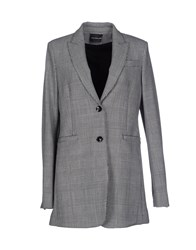 Atos Lombardini Suits And Jackets Blazers Women Grey