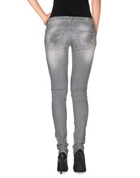 Meltin Pot Denim Denim Trousers Women Grey