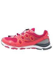 Jack Wolfskin Trail Excite Hiking Shoes Azalea Red Pink