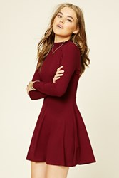 Forever 21 Cutout Back Skater Dress