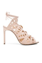 Bionda Castana Hazel Leather Heels In Neutrals Pink