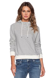 Atm Anthony Thomas Melillo Listado Stripe Hoodie Navy