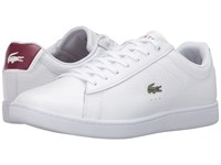 Lacoste Carnaby Evo G316 7 White Red Men's Shoes