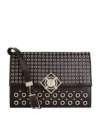 Versus By Versace Versus Versace Studded Cross Body Bag Female Black