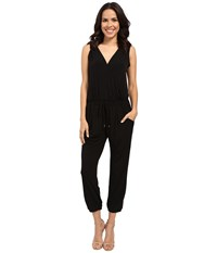 Catherine Malandrino Laird Jumpsuit Black Women's Jumpsuit And Rompers One Piece
