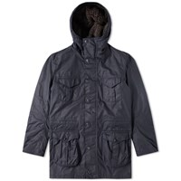 Barbour Oakum Wax Jacket Blue