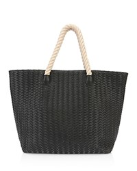 Deux Lux Crosby Rope Handle Tote Compare At 145 Black