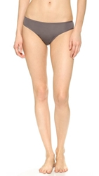 Natori Bliss Fit Model Thong Gunmetal