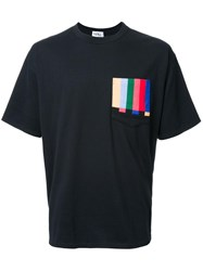 Kidill Striped Detail T Shirt Black